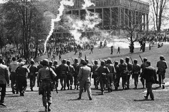 Kent State Univ Shootings-4May70
