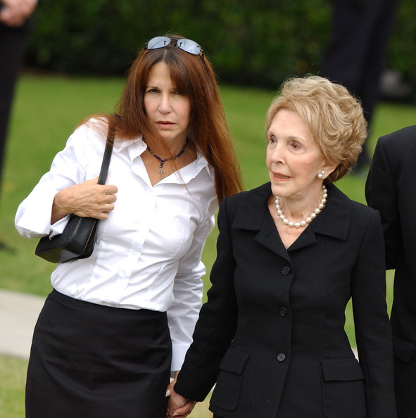Nancy+Reagan+Patti+Davis