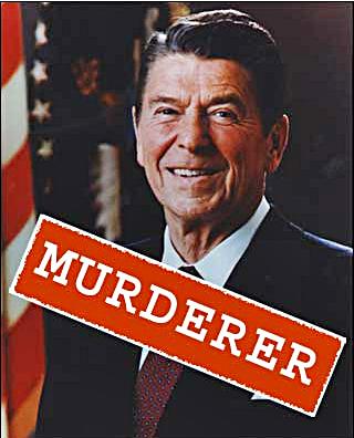 Ronald Reagan murderer