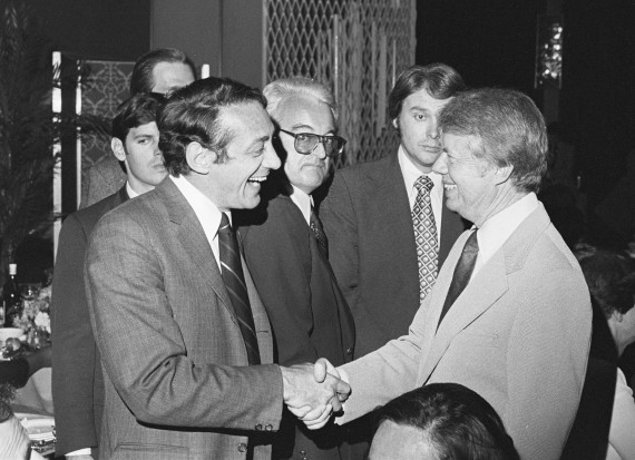Harvey Milk meets Jimmy Carter, May 1976