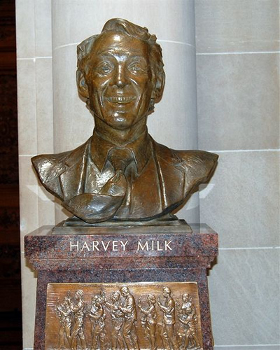 Milk Statue