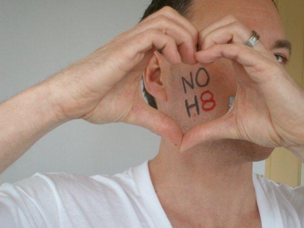 NOH8 Heart