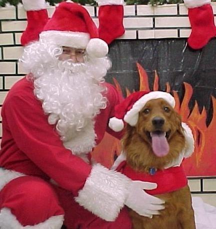 ABBA Santa Christmas 2001