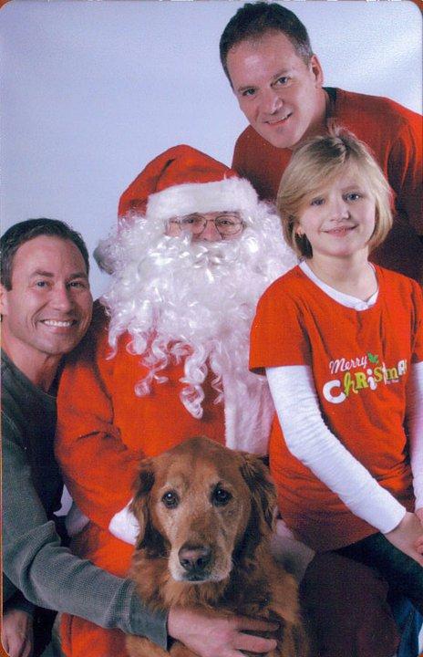 Christmas Santa Family 2010