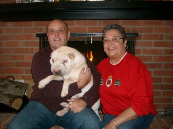 Christopher Panda Betty Christmas 2009