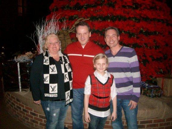 Nashville Christmas 2010 Family and Tammy