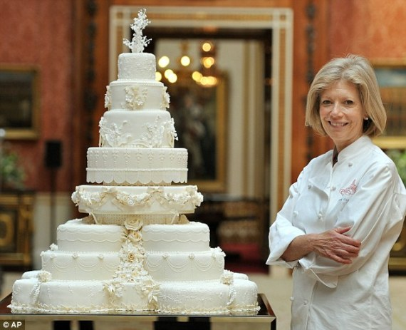 Royal Wedding Fruit Cake