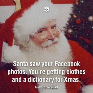 Santa Facebook