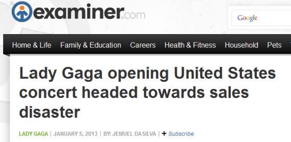 Another Gaga Bashing