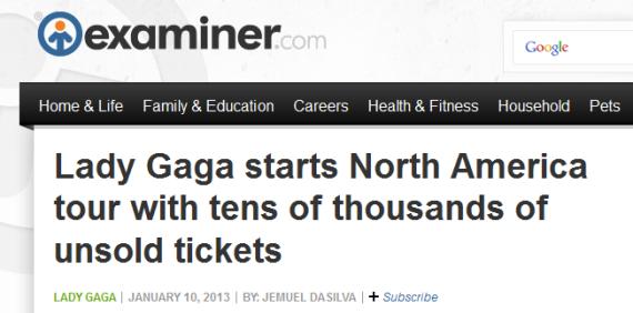 Examiner Headline