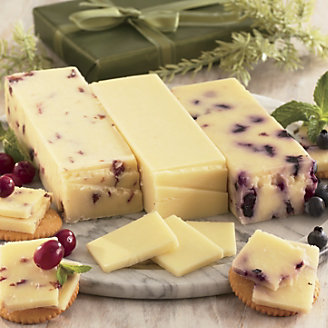 Fruity White Cheddars