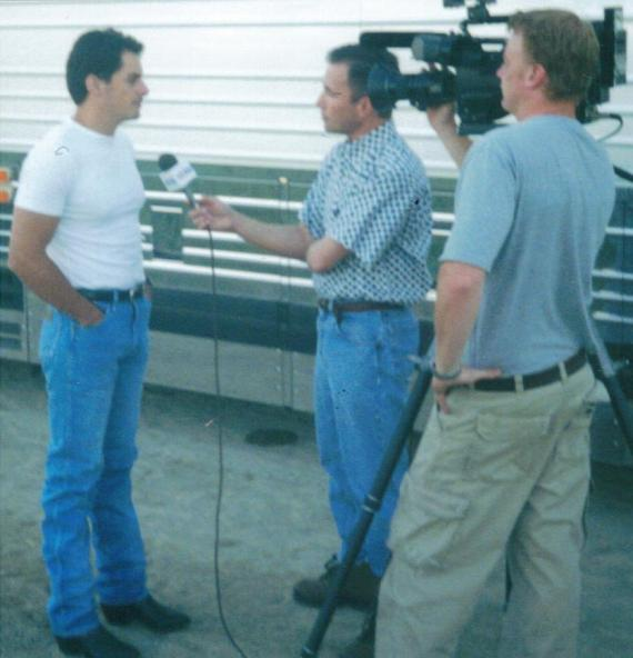 Interviewing Brad Paisley 2001