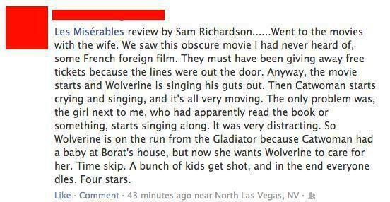 Les Mis Review