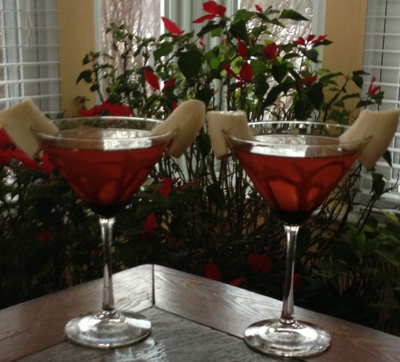 Banana Split Martini