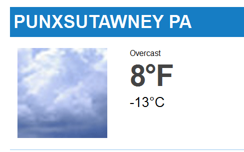 Punxsutawney Weather