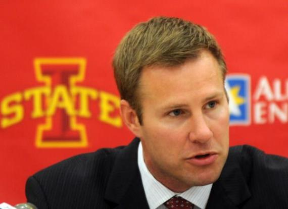 Iowa State Coach Fred Hoiberg