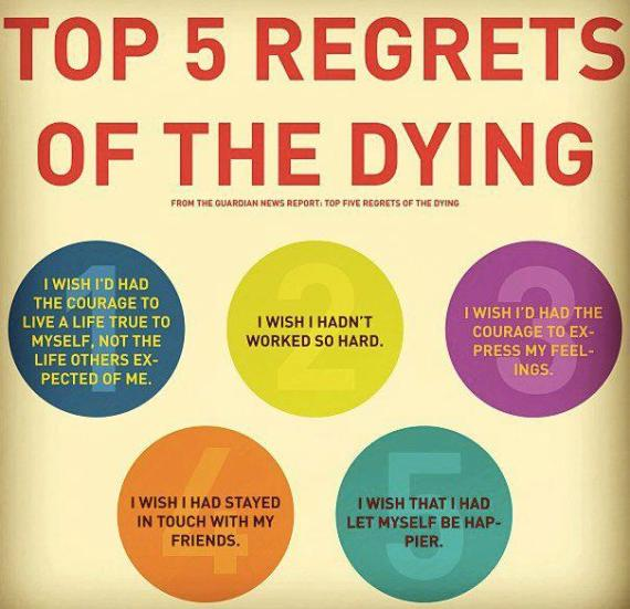 Dying Regrets