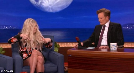 Ke$ha Tickles The Ivory