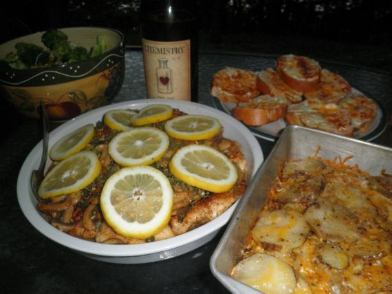 Chicken Piccata June 8 2012