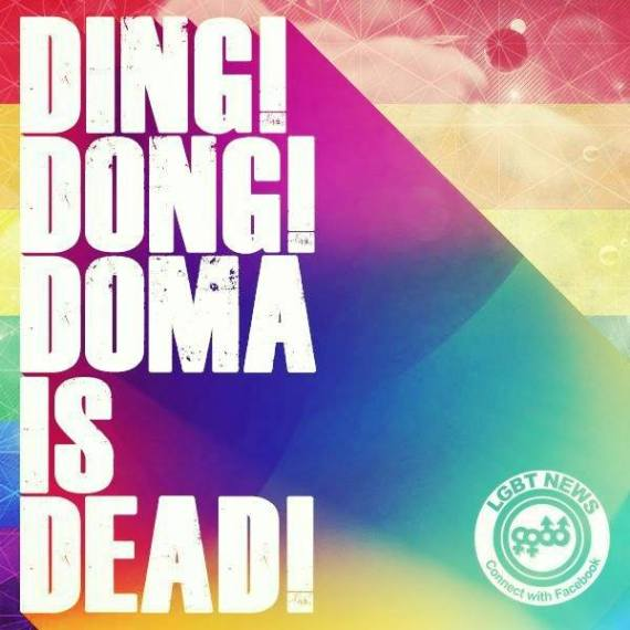 Ding Dong Dead DOMA