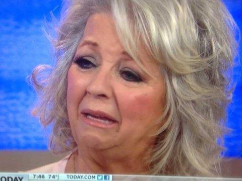 Paula Deen Crying