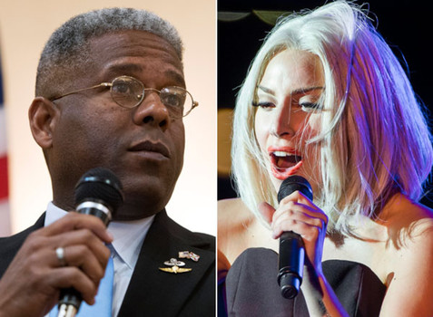 Allen West - Lady Gaga