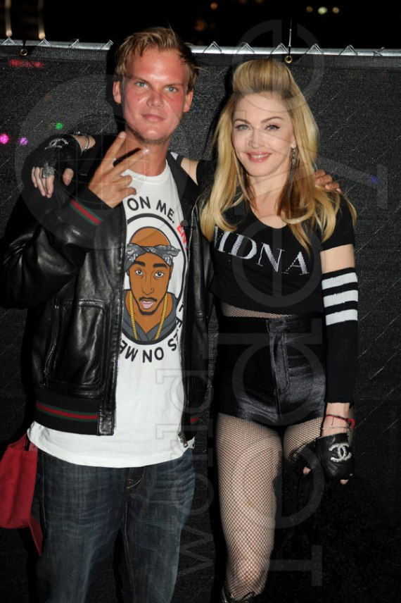 Avicii and Madonna
