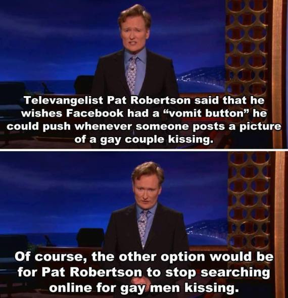 Conan Pat Robertson Follow