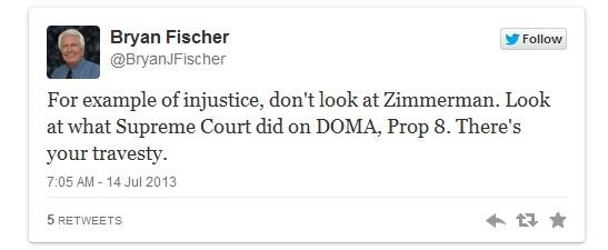 Fischer Tweet