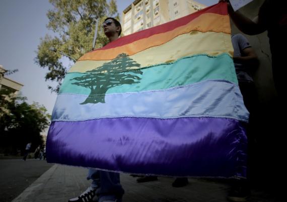 LEBANON-SOCIETY-HOMOPHOBIA-RALLY