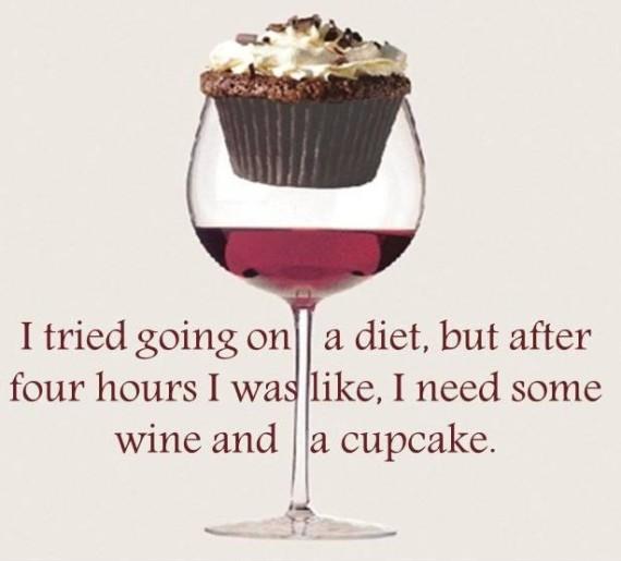 Wine Cupcakes