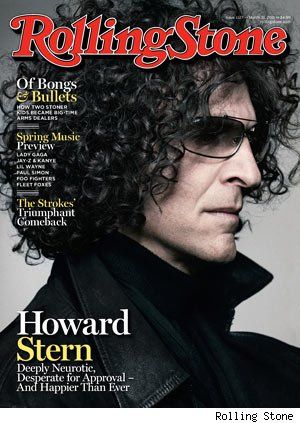Howard Stern Rolling Stone