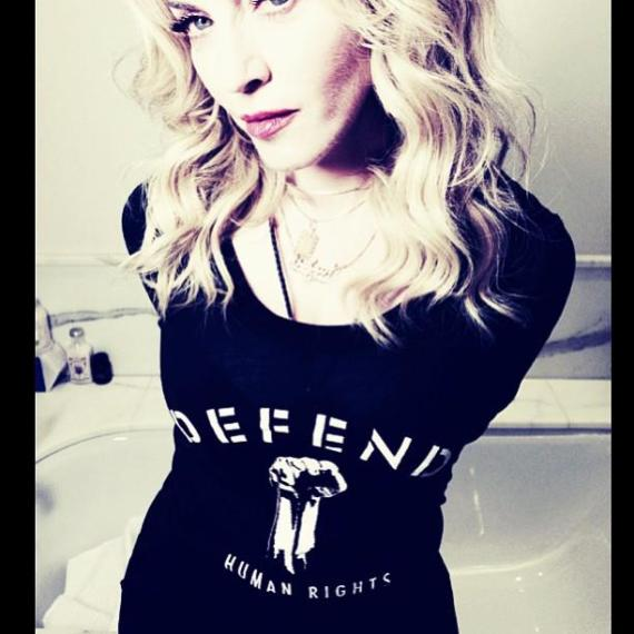 Madonna Defend Human Rights