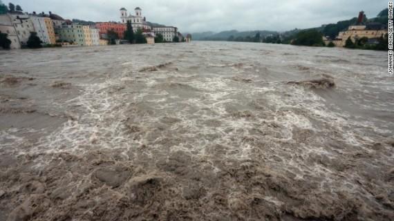Passau Flooding 2
