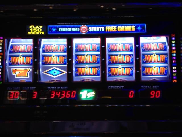 Winning On Slot Machine