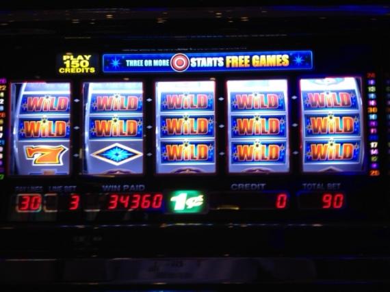Slot Machine Win