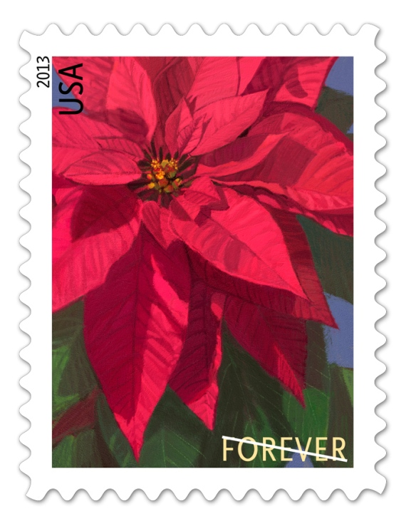 2013 Poinsettia Stamp