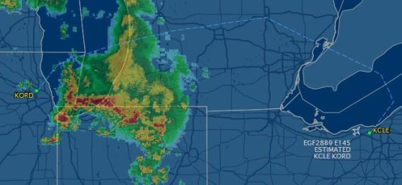 Chicago Storms -- Flight Disaster