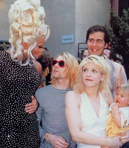 RuPaul Kurt Cobain