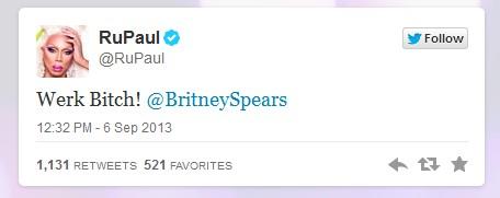RuPaul Tweet