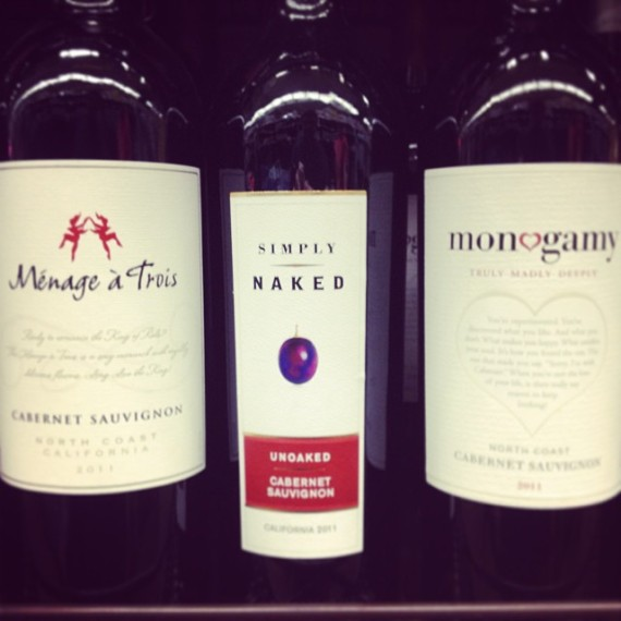 Confusing Wine Selection