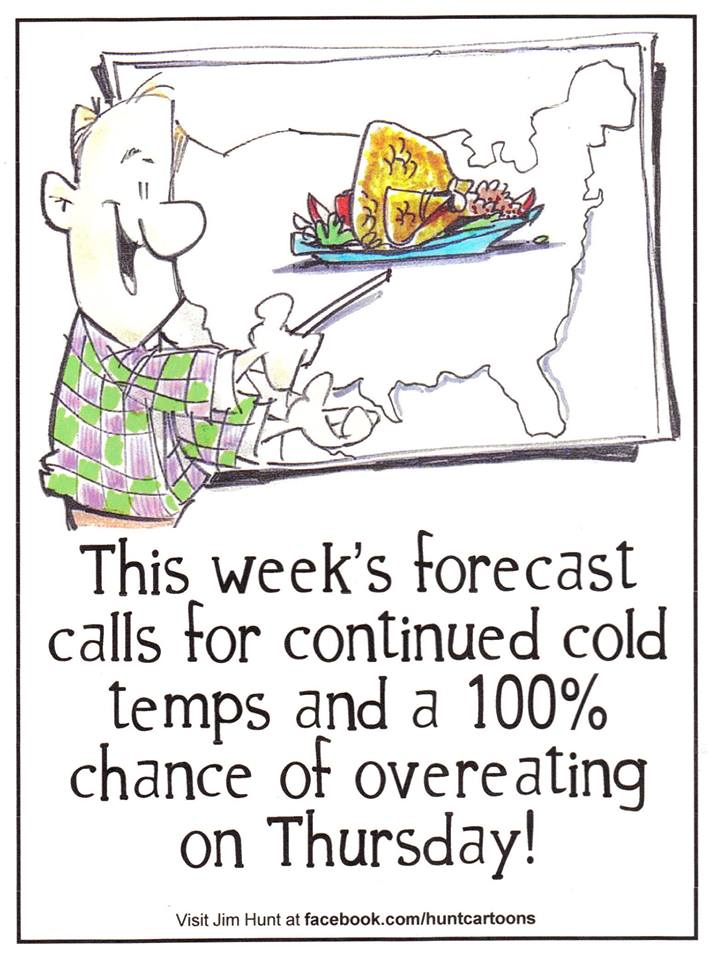 Thanksgiving Forecast