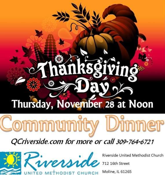 Thanksgiving Riverside United Methodist Moline