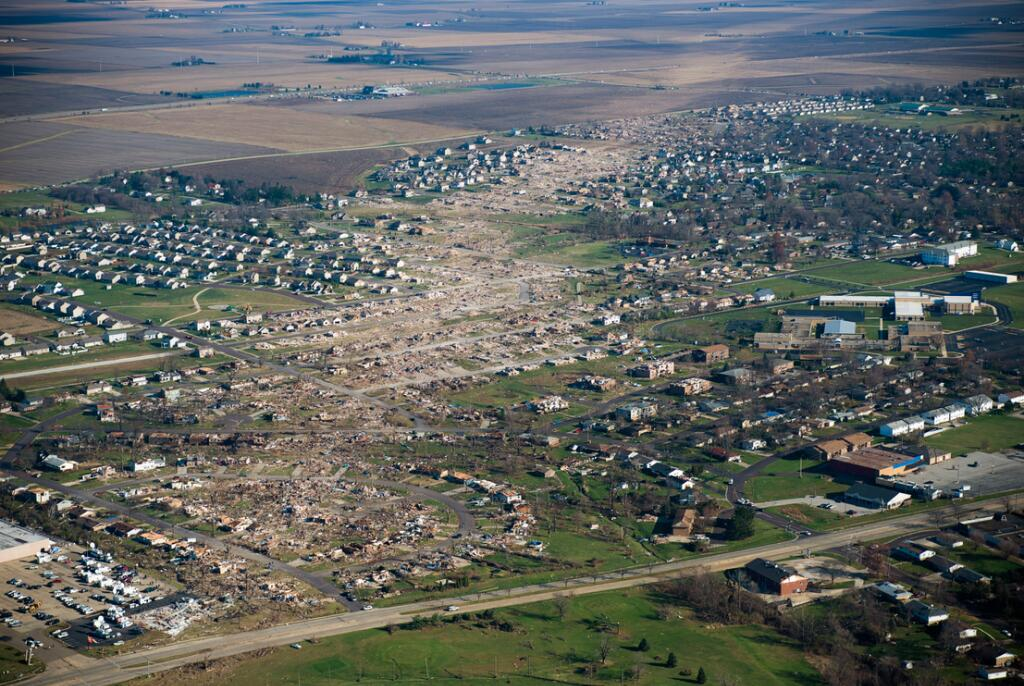 Washington, IL tornado path Nov. 2013