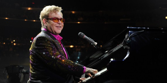 Elton John Performs at Madison Square Garden