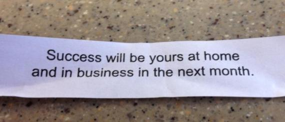 February 7 2013 Fortune Cookie