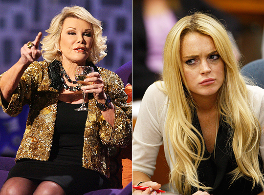 Joan Rivers - Lindsay Lohan