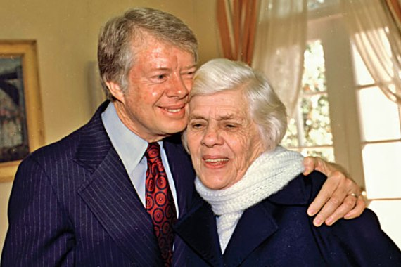 President Carter and Lillian Carter