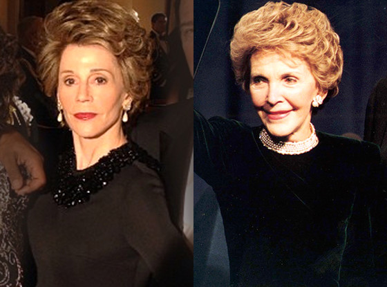 Jane Fonda Nancy Reagan