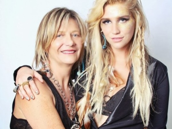 Kesha and Mom
